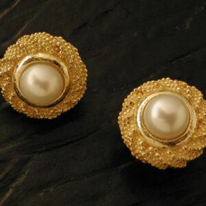 Orecchini e perle in oro [Cod. OR 080-OG]
