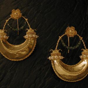 Orecchini pendenti in oro [Cod. OR 078-OG]