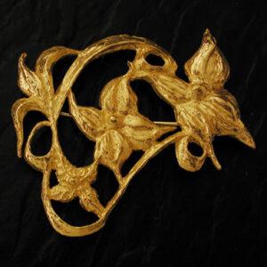 Spilla a fiori in oro [Cod. SP 063-OG]